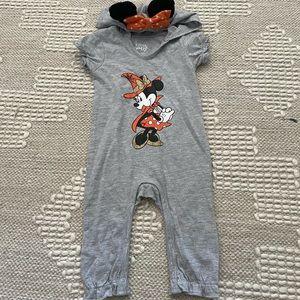Disney Baby Halloween Minnie Mouse One Piece 3-6 m